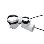 Monogram Brass MB138889 Chrome Decorative PVC Bathtub Cable Drain Assembly