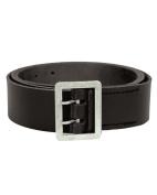 Mil-Tec Leather De Koppel 2 Dorn Police Belt