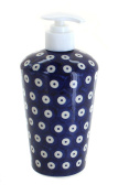 Polish Pottery Dots Soap Dispenser