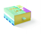 FRINGE STUDIO Brushed Peace Love Triple Milled Boxed Soap