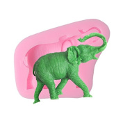 Safari Elephant Silicone Mould - Quality Moulds from Bakell