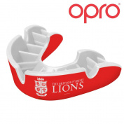 OPRO Silver Level British & Irish Lions Official Adult Mouthguard Gum Shield For Rugby, Football, Hockey - 18 Month Dental Warranty