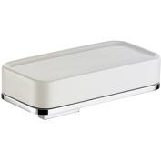 BA Altissima Wall Mounted Soap Dish Holder Ceramic Tray Soap Holder - Brass
