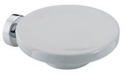 BA Tratto Wall Mounted Soap Dish Holder Ceramic Tray Soap Holder - Brass