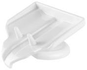 Soap Saver Waterfall Soap Dish Drain, Soap Holder by Everyday Home