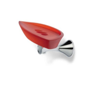StilHaus StilHaus CA09-08-RO-637509824693 Cali Collection Soap Dish, Red