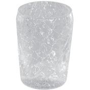 BA Preziosa Toothbrush Toothpaste Holder Bathroom Tumbler - Crackled Glass