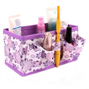 Gotoole Makeup Cosmetic Storage Box Foldable things Container