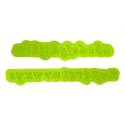 Calligraphy Lowercase Flexabet Mould by Marvellous Moulds