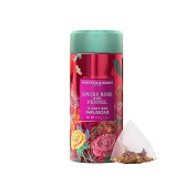 FORTNUM and MASON Spiced Rose & Fennel Infusion Tin - 2 x 15 silky tea bags pack (30 count) NEW!