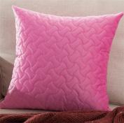 LY & HYL Modern simple velvet candy colour car lumbar office cushion multi-function gift pillow 45cm * 45cm , 4
