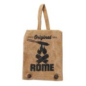 Rome Industries Single Pie Iron Canvas Cover Bag, 19cm x 15cm , Beige