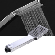 LianLe Simple Supercharger Shower Nozzle Pressure Boost Shower Head on ABS
