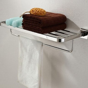 AISSION Bathroom Shelf Stainless Steel Wall Mounted Stainless Steel Contemporary,600x 220 x 120mm