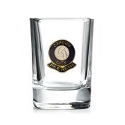 Cardiff City football club shot glass