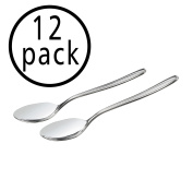 Anbers Stainless Steel Teaspoon Set, 12 Pieces