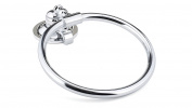Richelieu Hardware NB1000643 Sierra Collection Towel Ring, Chrome