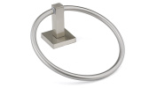 Richelieu Hardware NB1030649 Palisade Collection Towel Ring, Brushed Nickel