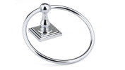 Richelieu Hardware 14643 Bentley Collection Towel Ring, Chrome