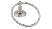 Richelieu Hardware NB1050649 Montebello Collection Towel Ring, Brushed Nickel