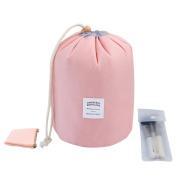 Tancendes Waterproof Travel Bag Makeup bag Cosmetic Bag Travel Kit Organiser Bathroom Storage Cosmetic Bag Carry Case Toiletry Bag Multifunctional bucket toiletry bag