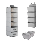 Delta Children Complete Nursery Organisation 3-Piece Set, Dove Grey