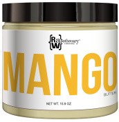 Mango Butter- 100% All Natural by Raw Apothecary- Top-Grade, Unrefined and Additive Free Butter