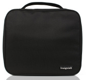 Unisex Toiletry Bag: InsigniaX Travel Cosmetic Organiser For Men, Women, Boys, Girls With Compartments, Handle and Pockets. Size H: 25cm x W