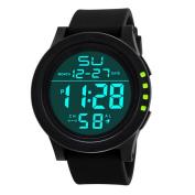 Fashion LED Waterproof Digital Quartz Watch Military Sport Men's ,Tuscom