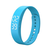 Fitness wristband,ZIYUO T5S Activity tracker Calories counter Pedometer Bluetooth smart bracelet