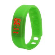 Rubber LED Watch ,Tuscom Womens Sports Digital Wrist Watch