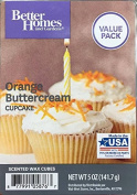 Better Homes and Gardens Orange Buttercream Cupcake Value Pack scented wax cubes 150ml
