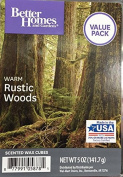 Better Homes and Gardens Warm Rustic Woods Value Pack scented wax cubes 150ml