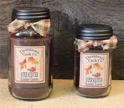 Thompson's Candles Mason Jar Candle-Autumn Leaves