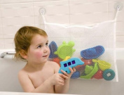 Baby Bathroom Mesh Bag Children playing in the water bath toy pouch Net Suction Cup Baskets