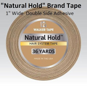 Natural Hold Tape 2.5cm X 36 yard Double Side Adhesive
