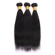 BeautyGirl Hair Brazilian Straight Virgin Hair Extensions Good Quality 3Pcs Lot Straight Remy Hair Weave 100% Human Hair Extensions