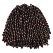 Beyond Beauty Soft Dreadlocks Crochet Braids Hair Ombre Synthetic Crochet Braiding Hair Extensions Kanekalon Fibre