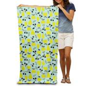 Apple Pear Fruit Combination Fashion Highly Absorbent Beach Towel 80cmx30cm