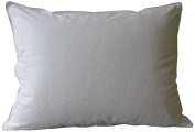 Pur Luxe Terry Pillow Protector, King, White