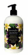 Greenwich Bay LAVENDER JASMINE Hand & Body Lotion, with Shea Butter, Cocoa Butter, Lavender Jasmine Oils, No Parabens, No Sulphates 470ml