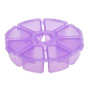 Cosmetic Bags, Toraway Women 8 Grids Plastic Desktop Storage Box