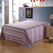 YFFS Cotton Cotton Single Sheet Single Single Bed Sheets Cotton Sheets,N-230*245cm