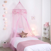 Pink Princess Girls Bed Sky with Stars