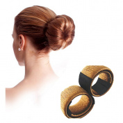 Lalang 1pc Wig Hair Donut Hair Bun Maker Styler Bridal Wedding Hair Style Bun