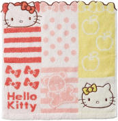 Marushin sanrio wash towel Hello Kitty Shamble Red from Japan