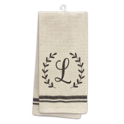Occasionally Made O-HSM-TWL-L 60cm x 48cm Monogram L Kitchen Towel