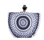 Mandala Roundies Round Beach Throw Tapestry Gypsy Tablecloth Beach Towel,Yoga Mat Wooden Table Mat