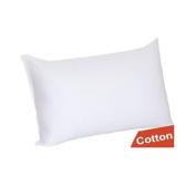 Bed Pillow, Tloowy Pure Cotton Pillows Super Bounce Back Pillows Hollow Fibre Filled Neck Guard Pillows Pure White Pillows(King & Queen & Standard Size)