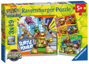 Ravensburger Teenage Mutant Ninja Turtles Half Shell Heroes 3x 49pc Jigsaw Puzzles